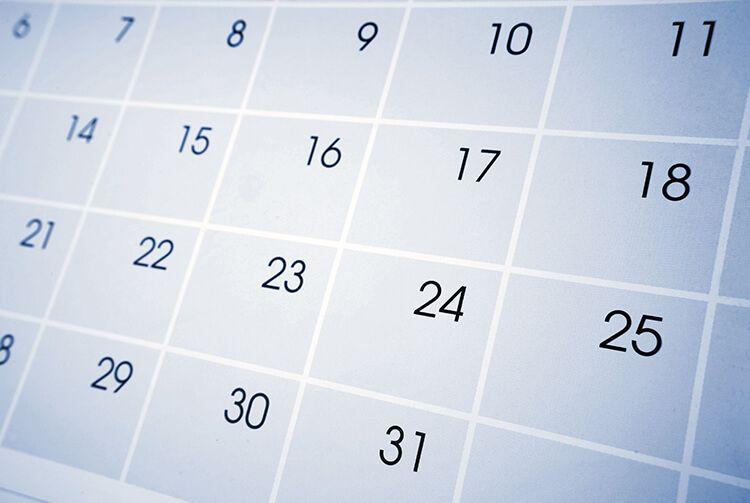 Calendar on a computer screen | Concord, NC