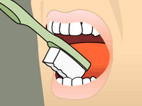 brushing-step-four
